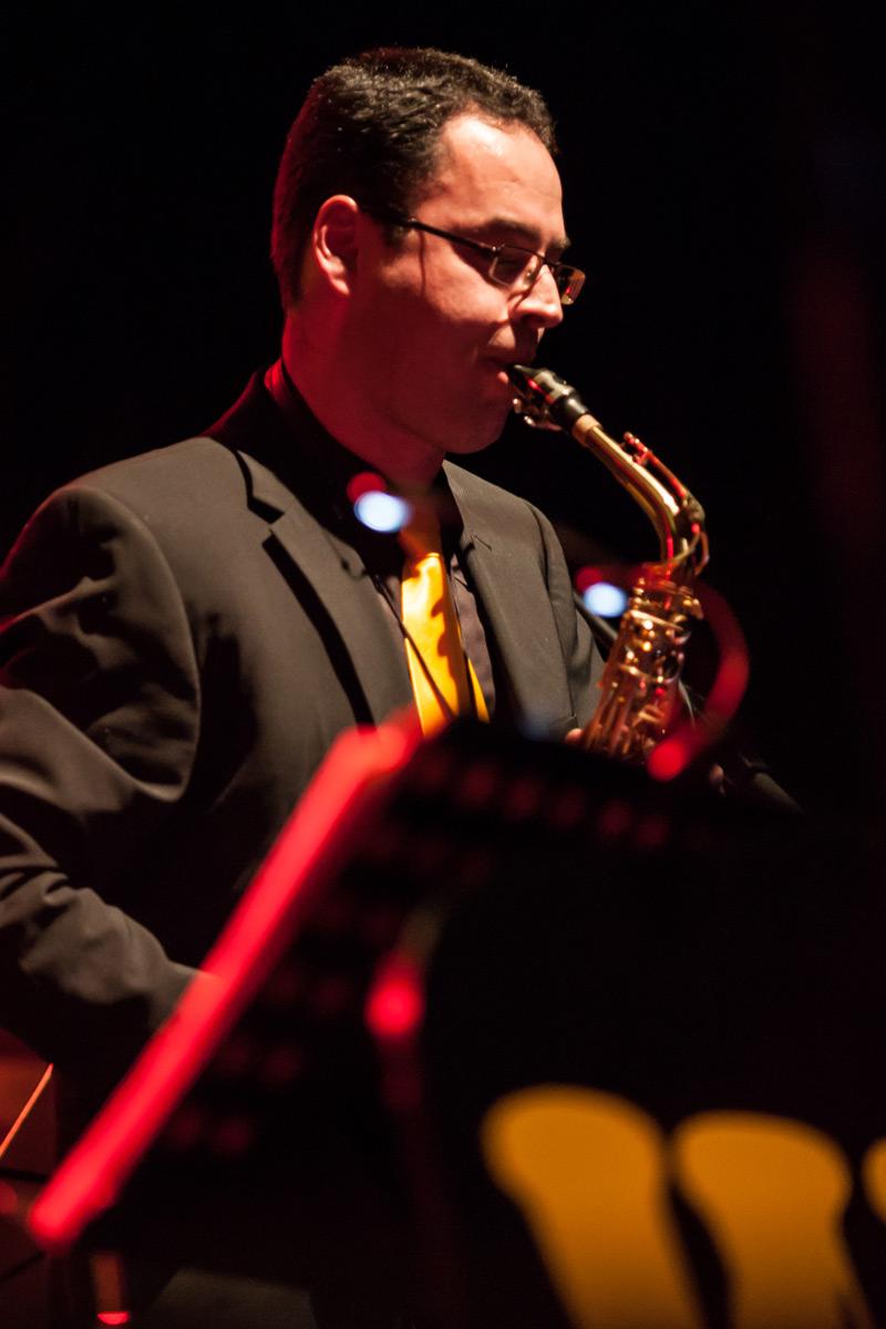 Frank Siefert, sax alt & clarinet