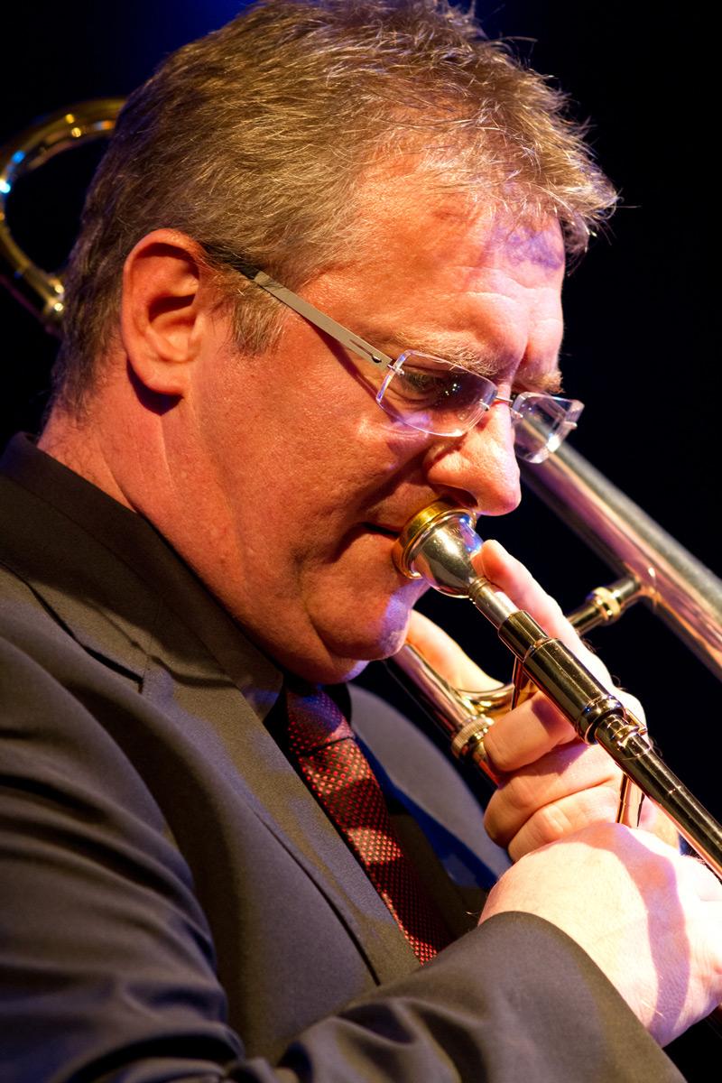 Hanjo Gißler, leader & trombone