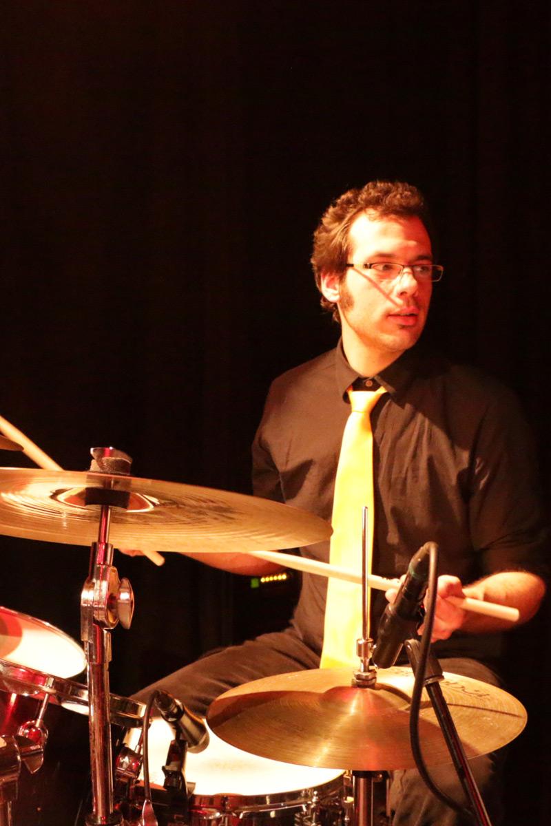Matthias Ruf, drums