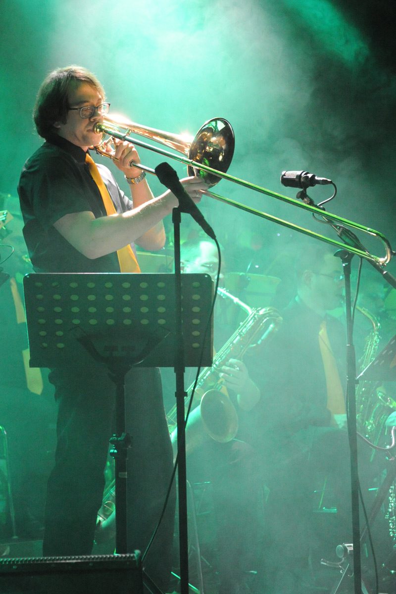 Nicolas Scherger, trombone